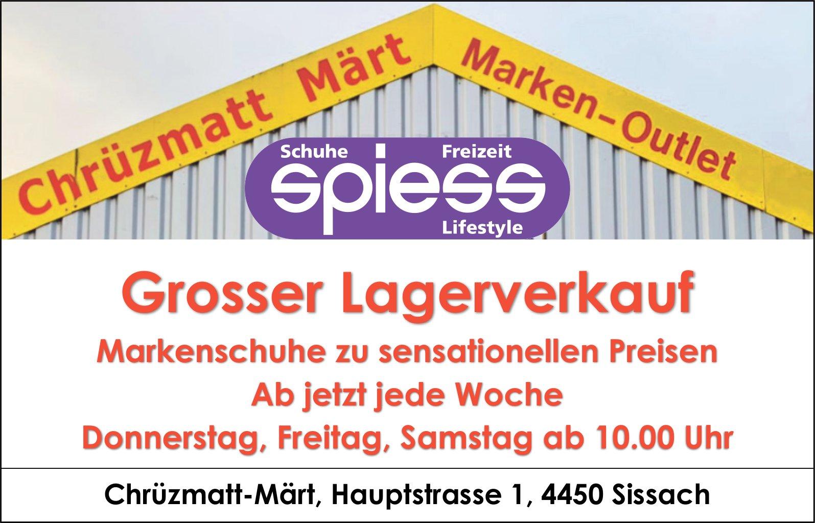 Chrüzmatt-Märt, Marken-Outlet, Sissach - Grosser Lagerverkauf