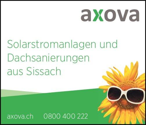 Axova, Sissach - Solarstromanlagen und Dachsanierungen aus Sissach