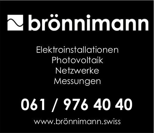Brönnimann, Elektroinstallationen