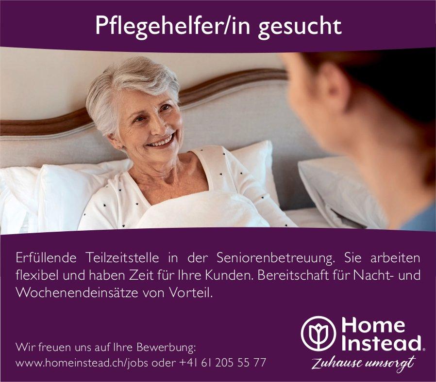 Pflegehelfer/in gesucht, Home Instead, gesucht