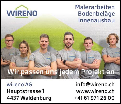 Wireno AG, Waldenburg - Wir passen uns jedem Projekt an