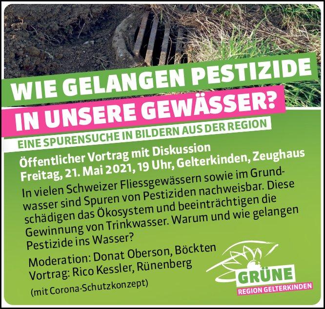 Öffentlicher Vortrag mit Diskussion, 21. Mai, Zeughaus Gelterkinden