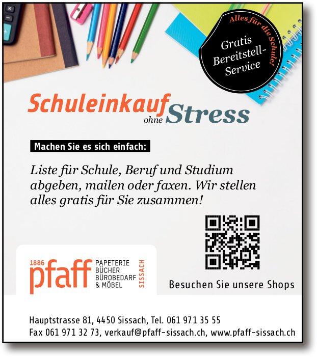 Pfaff Papeterie, Sissach - Schuleinkauf ohne Stress