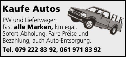 Kaufe Autos aller Marken