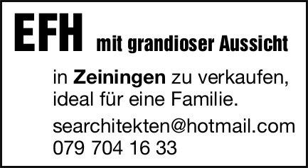 EFH, Zeiningen, zu verkaufen