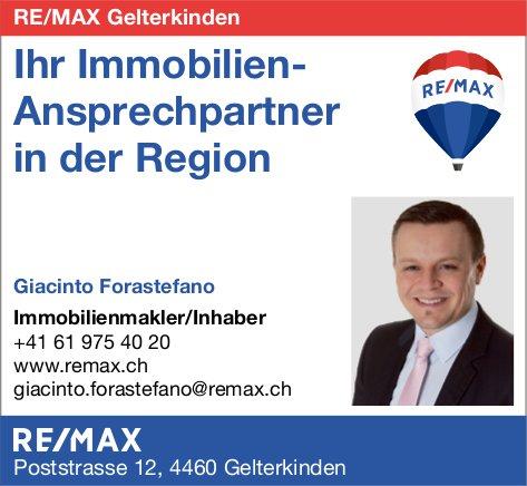 Re/max, Gelterkinden - Ihr Immobilien-Ansprechpartner in der Region