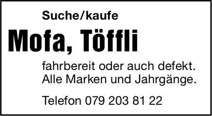 Mofa, Töffli zu kaufen gesucht