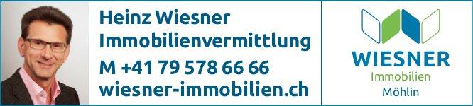 Wiesner Immobilien, Möhlin - Heinz Wiesner Immobilienvermittlung