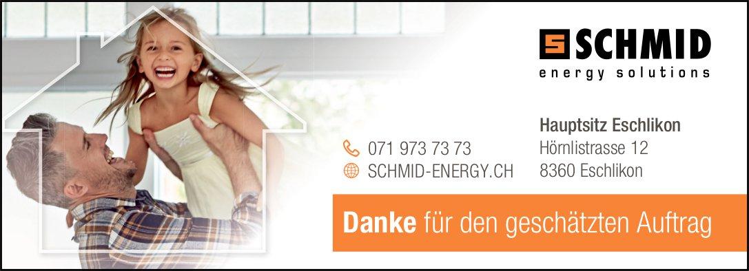 Schmid Energy Solutions, Eschlikon