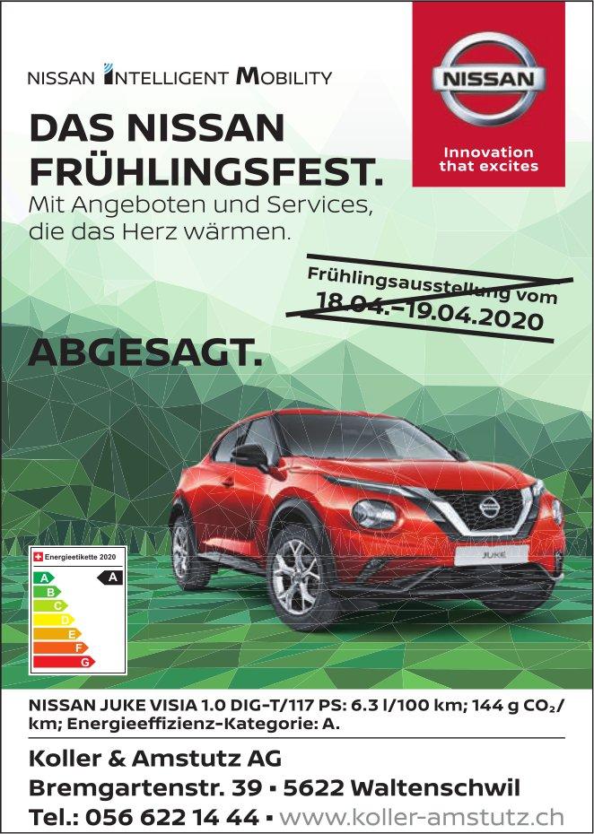Frühlingsausstellung bei Garage Koller & Amstutz AG abgesagt