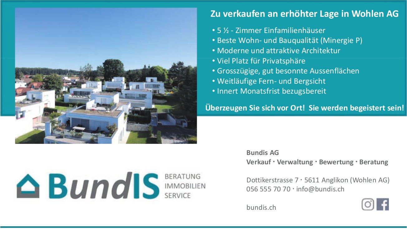 BundIS AG, 5½ Zimmer-Wohnung, Wohlen,  zu verkaufen