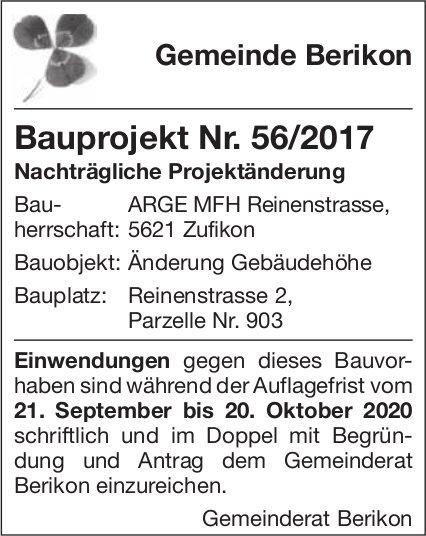 Gemeinde Berikon - Bauprojekt