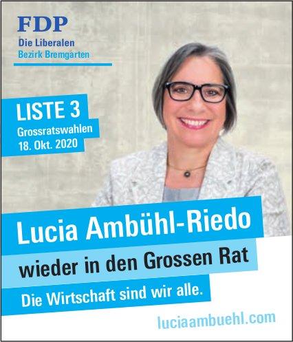Lucia Ambühl-Riedo wieder in den Grossen Rat