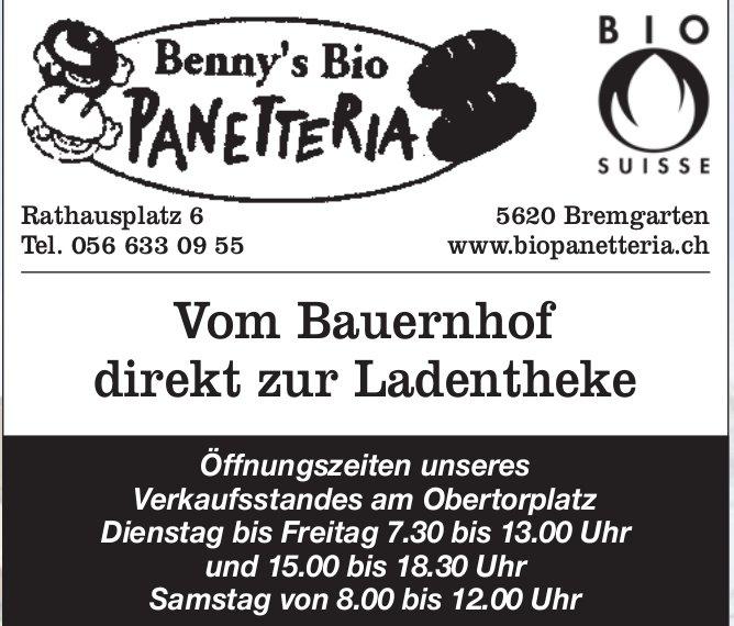 Benny's Bio Panetteria, Bremgarten - Vom Bauernhof direkt zur Ladentheke