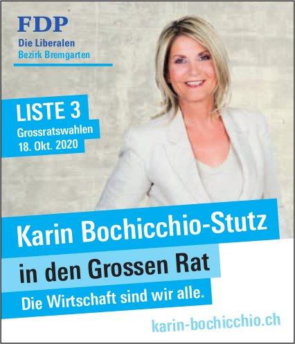 Karin Bochicchio-Stutz in den Grossen Rat