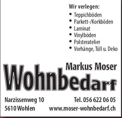 Moser Wohnbedarf in Wohlen