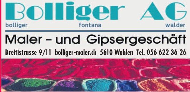 Bolliger AG, Wohlen - Maler- und Gipserarbeiten