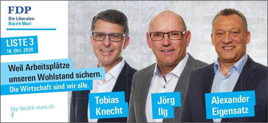 FDP Bezirk Muri Liste 3