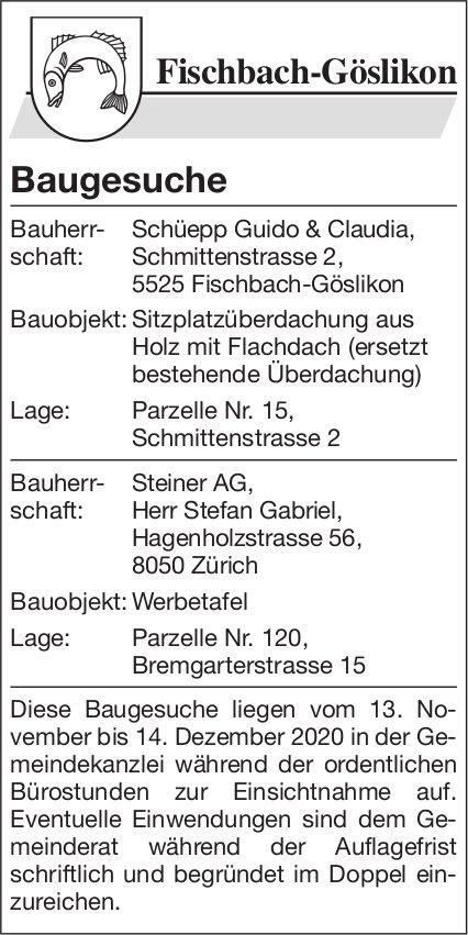 Gemeinde Fischbach - Baugesuche