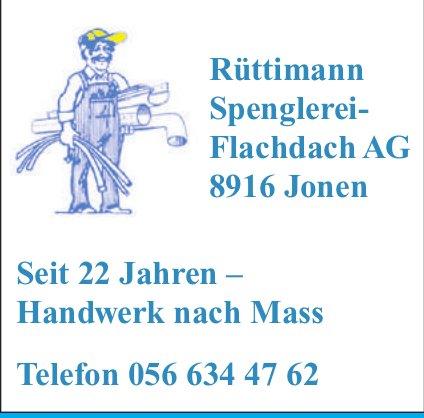 Rüttimann Spenglerei,  Jonen - Handwerk nach Mass