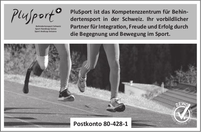 PluSport Kompetenzzentrum für Behindertensport