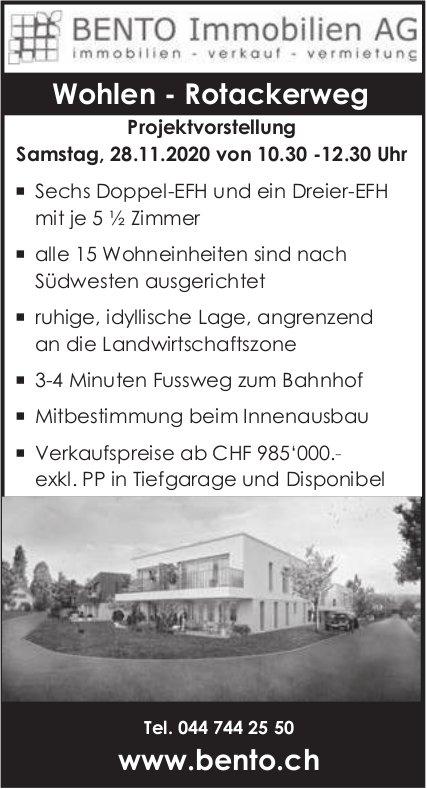 Doppel-EFH in Wohlen zu verkaufen