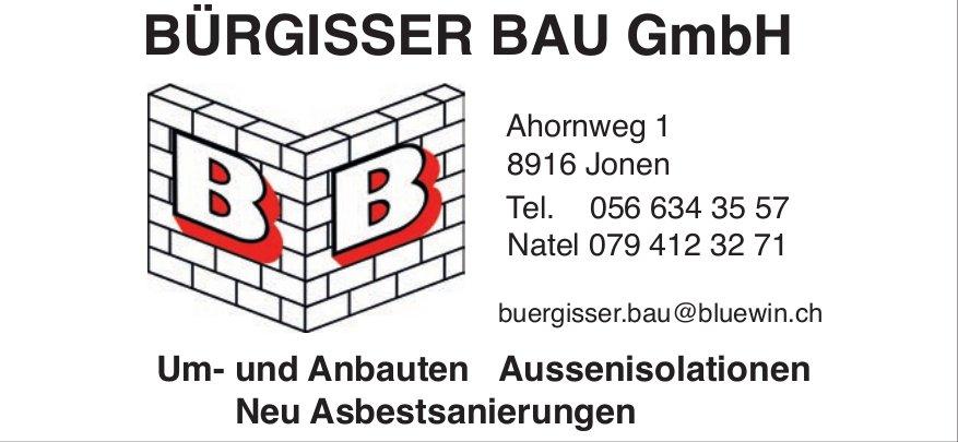 Bürgisser Bau GmbH - Um- und Anbauten
