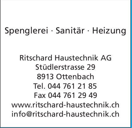 Ritschard Haustechnik AG