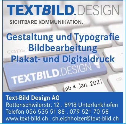 Text-Bild Design AG, Unterlunkhofen - Bildbearbeitung Plakat- und Digitaldruck