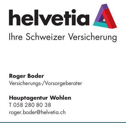 Helvetioa Versicherung Hauptagentur Wohlen