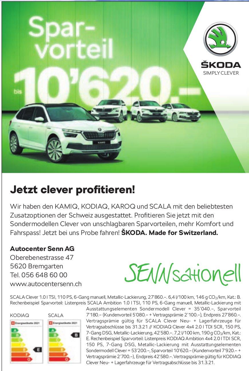 Autocenter Senn AG, Bremgarten - Jetzt clever profitieren!