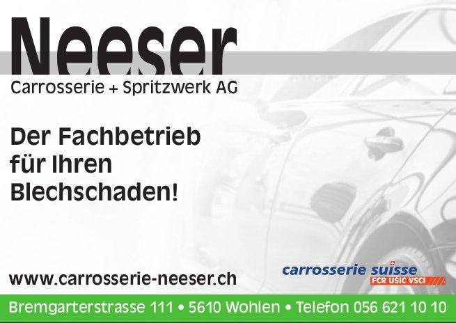 Carrosserie + Spritzwerk AG, Wohlen - Der Fachbetrieb für Ihren Blechschaden!