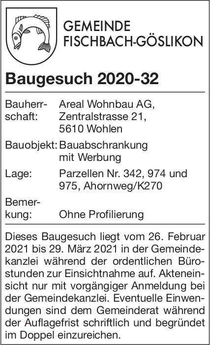 Gemeinde Fischbach - Baugesuch