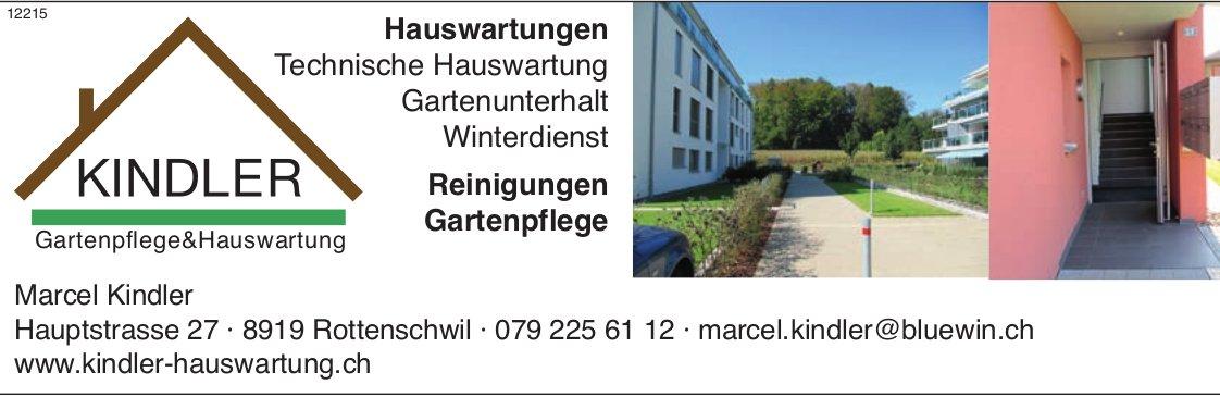 Kindler Hauswartung, Rottenschwil - Technische Hauswartung, Gartenunterhalt und Winterdienst