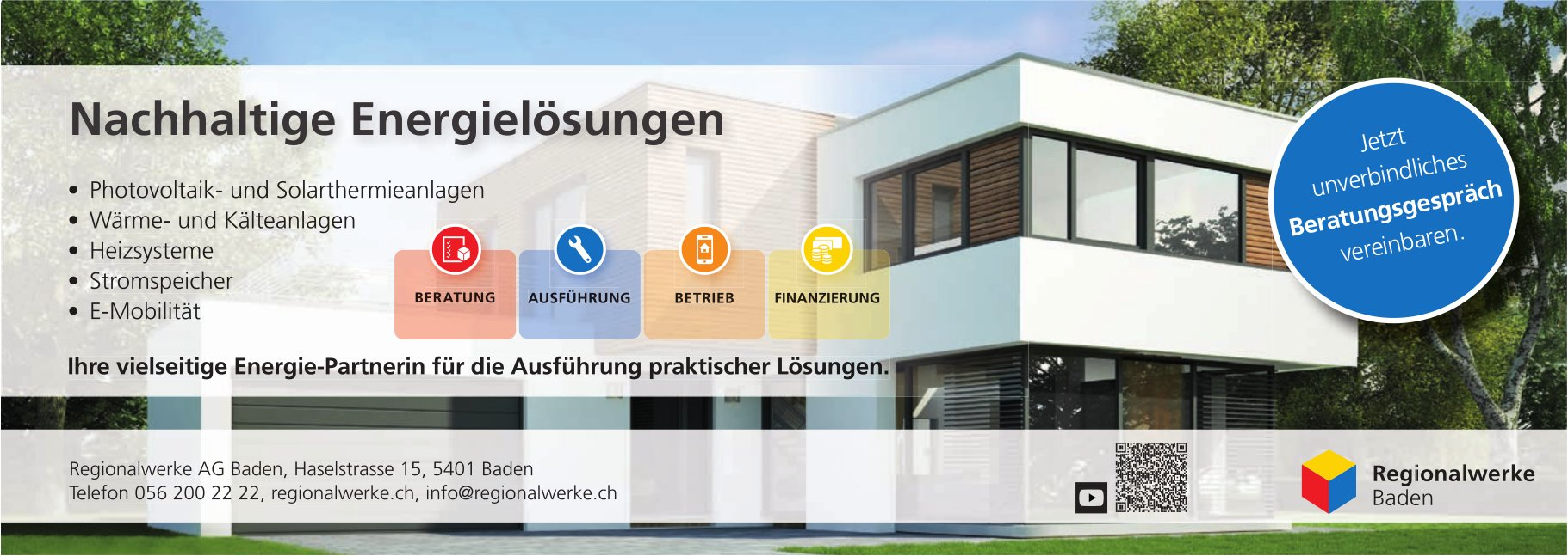 Nachhaltige Energielösungen - Regionalwerke Baden