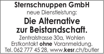 Sternschnuppen GmbH, Wohlen - Die Alternative zur Beistandschaft.