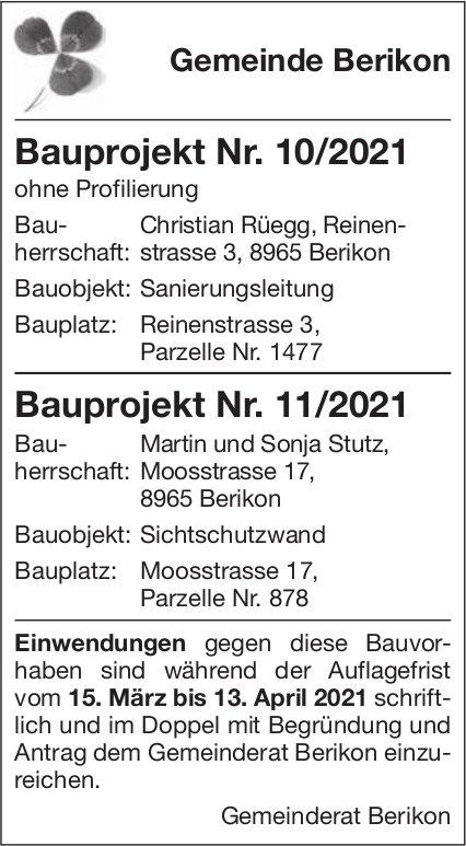 Gemeinde Berikon - Bauprojekte