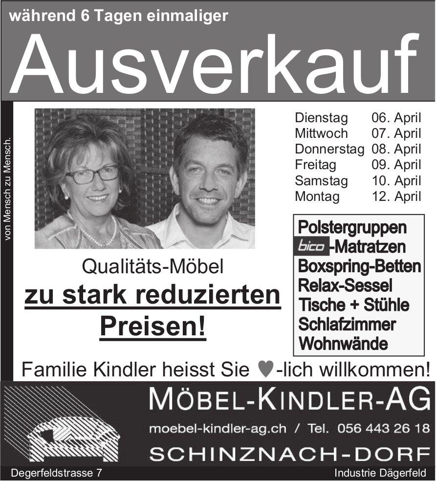Ausverkauf, 12. April, Schinznach-Dorf