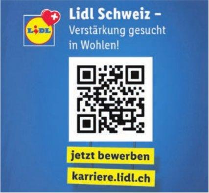 Lidl Schweiz - Verstärkung gesucht in Wohlen