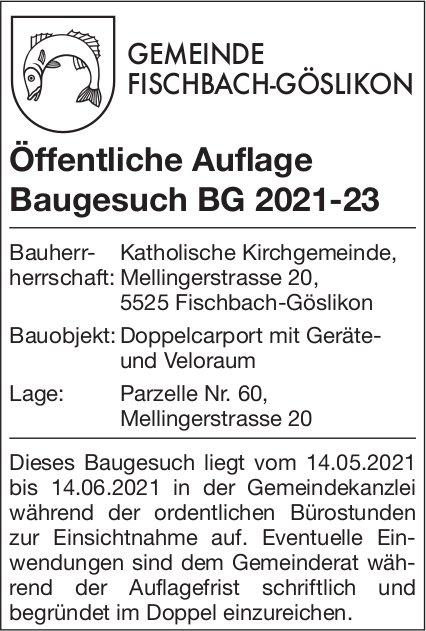 Fischbach -Öffentliche Auflage Baugesuch