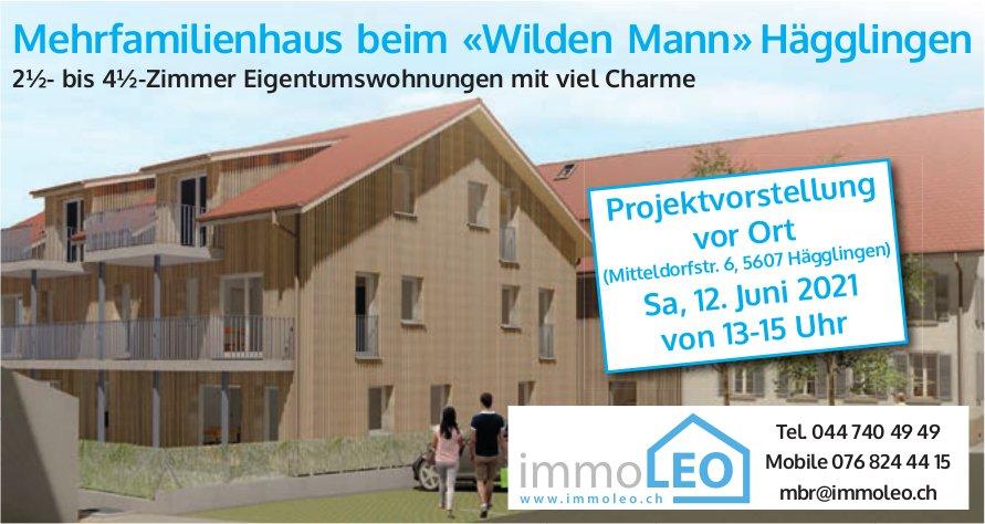 2.5- bis 4.5-Zimmer Eigentumswohnungen, Hägglingen, zu verkaufen