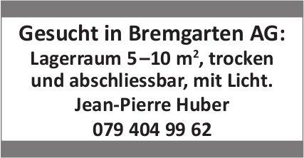 Lagerraum 5 - 10 m2, Bremgarten, zu mieten gesucht