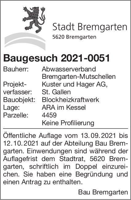 Baugesuche, Bremgarten - Kuster Hager AG