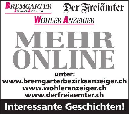 BBA/WA der Freiämter, Mehr online