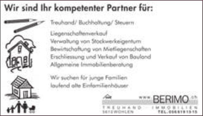 Berimo Treuhand - Wir sind Ihr kompetenter Partner