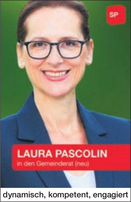 Laura Pascolin in den Gemeinderat, dynamisch, kompetent,  engagiert