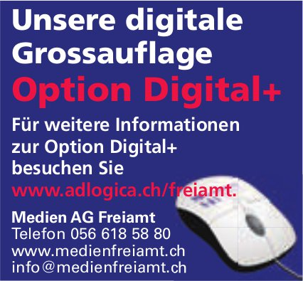Medien AG, Freiamt - Option Digital+