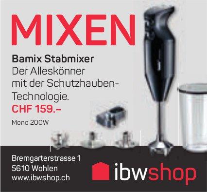 IBW shop, Wohlen - Mixen
