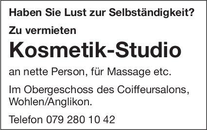 Kosmetik-Studio, Wohlen, zu vermieten