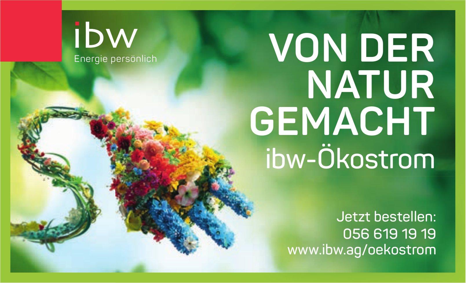 Von der Natur gemacht - IBW-Ökostrom